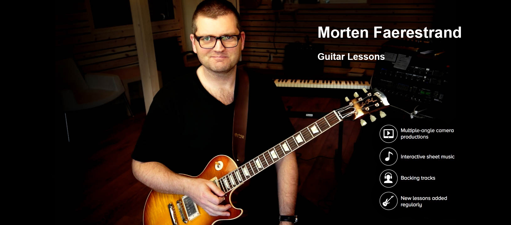 Morten Faerestrand Jazz Guitar Lessons