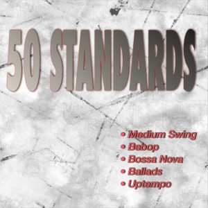 Dynamic backing tracks for 50 choice standards!
