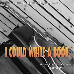 Learn to solo on I could write a book using the arpeggio up/scale down approach.