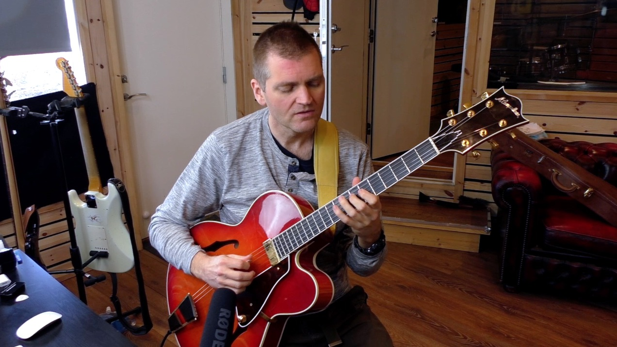 Online Guitar Lessons With Morten Faerestrand
